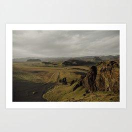 Dyrholaey, Iceland Art Print