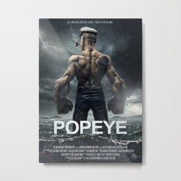 Popeye movie poster Metal Print