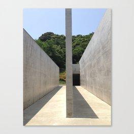 Lee Ufan Museum, Naoshima Island - Ellie Wen Canvas Print