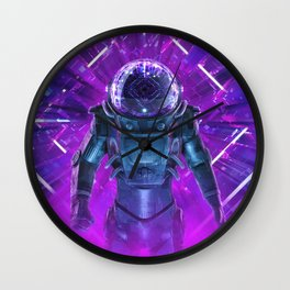 Entering The Unknown Wall Clock
