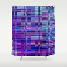 Re-Created Eighth Tier by Robert S. Lee Shower Curtain