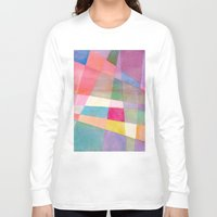 grid Long Sleeve T-shirts featuring Grid by Dreamy Me