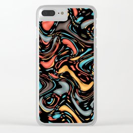 Stirred colors Clear iPhone Case