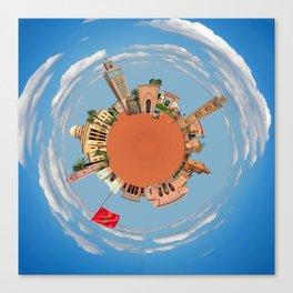 marrakech little planet Canvas Print