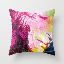 Electric Repose Throw Pillow