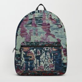 Modern Abstraction Photography #17 Backpack