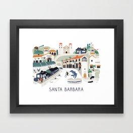 The best of Santa Barbara Framed Art Print
