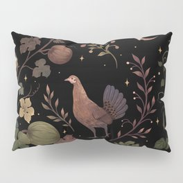 Wild Chicken with Autumn Vines Pillow Sham