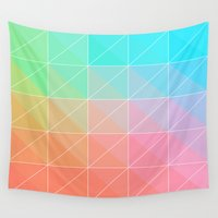 gradient Wall Tapestries featuring Gradient by Fimbis