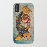 koi iPhone & iPod Cases featuring Koi by Tuky Waingan