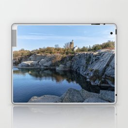 Autumn Quarry Landscape Laptop & iPad Skin