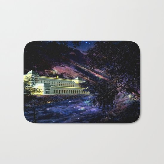 Enchanted Palace By the River Bath Mat