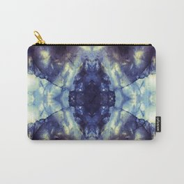 Abstract Kaleidoscope Mineral Crystal Texture Carry-All Pouch