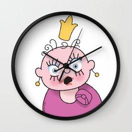 Little Princess 3 Wall Clock