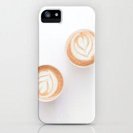 Morning Latte iPhone Case