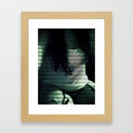 Void (Priestess) Framed Art Print