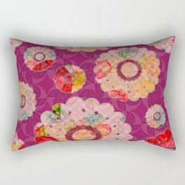 Doily full o'flowers Rectangular Pillow