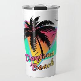 Daytona Beach Travel Mug