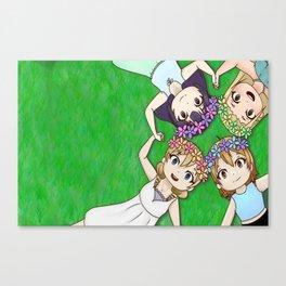 Love Live! School Idol Festival Normal Girls Canvas Print