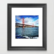The Golden Gate Bridge Framed Art Print