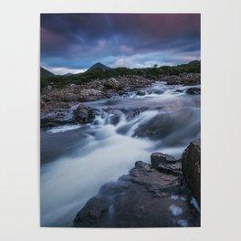 The River at Sligachan Poster