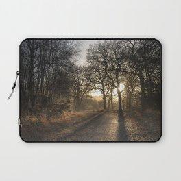 Cycle Path Sunrise Laptop Sleeve