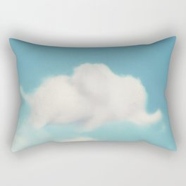 Elephant in the Sky Rectangular Pillow