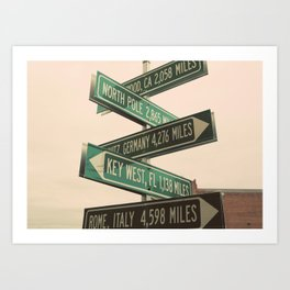 Choose Your Own Adventure - Fine Art Print Art Print