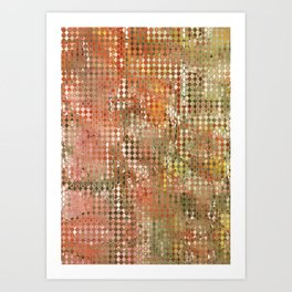 autumn colours abstract 3 Art Print