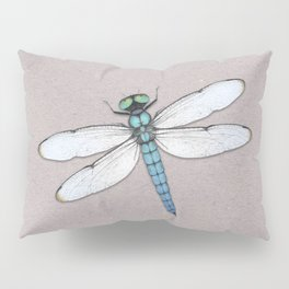Blue dragonfly Pillow Sham