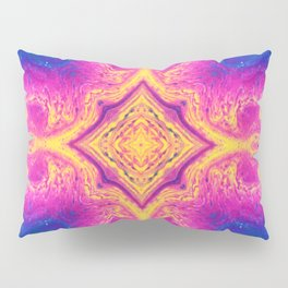 Psychedelic Three Pillow Sham