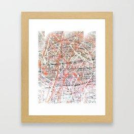 Flight of Color - 3D graphic Framed Art Print