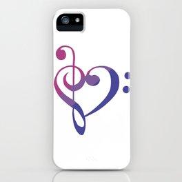 Bi my Heart iPhone Case