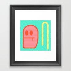 Grubbo Citrus Dim.  Framed Art Print