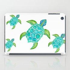 Watercolor Sea Turtle iPad Case