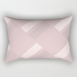 Neapolitan Pink Blush Rectangular Pillow