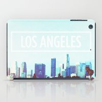 los angeles iPad Cases featuring Los Angeles by Heather St. Marie