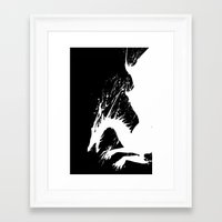 dragon age Framed Art Prints featuring Dragon Age by Jamelia