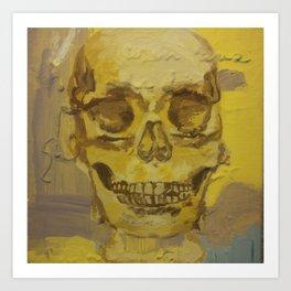 anatomy study Art Print