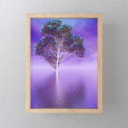 strange light somewhere -19- Framed Mini Art Print