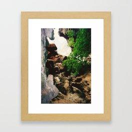 Railay Beach TH - Trail II Framed Art Print