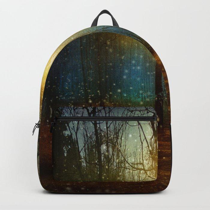 In seed time learn, in harvest teach, in winter enjoy. Backpack