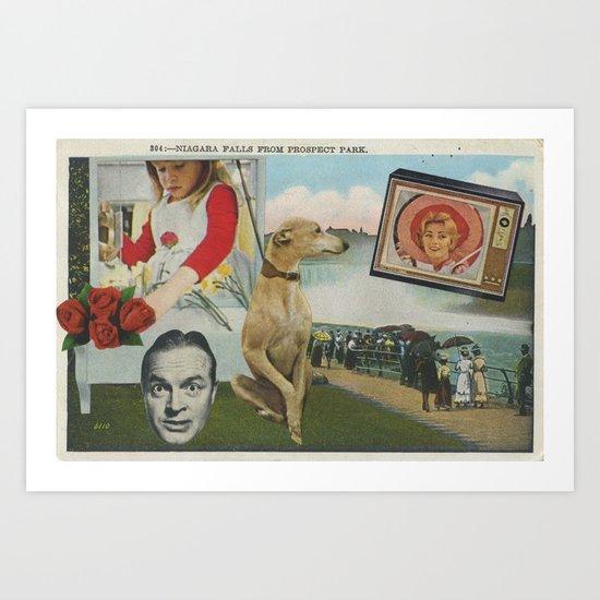 Postcard #19 Art Print