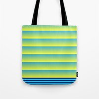 bands Tote Bags featuring Bands by HELLO MART