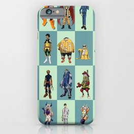 My Hero Academia 20 Heroes iPhone Case