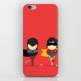 Heroes & super friends! iPhone Skin
