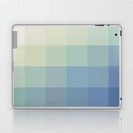 Mosaic Teal Ice Laptop & iPad Skin