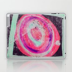 Abstract Green Pink Laptop & iPad Skin