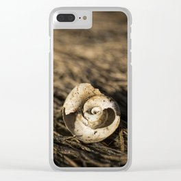 swirly Clear iPhone Case