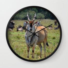 Eland Wall Clock